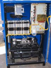 VAKR rectifiers for a galvanics