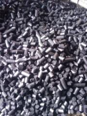 We offer for export a briquette from coal dust.