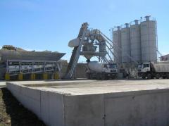 Concrete plants mobile