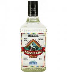 Messicano Alteno Silver tequila of 0,5 l.