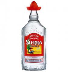 Sierra Silver tequila of 1,0 l.