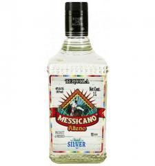 Messicano Alteno Silver tequila of 1,0 l.