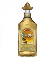 Sierra Reposado tequila of 1,0 l.