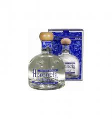 The Herencia De Plata Blanco tequila (Silver) (in
