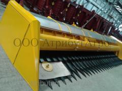 Sunflower harvesting ZHNS 7.4 harvester New...