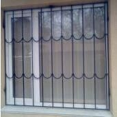 Lattices on windows and doors protective metal