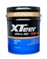 L Hyundai XTeer Heavy Duty Ultra 15w40 20.