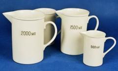 Ware and equipment porcelain laboratory Kiev