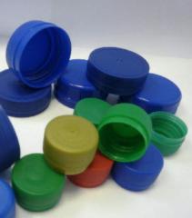 Caps plastic