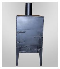 Furnace potbelly stove B2 model