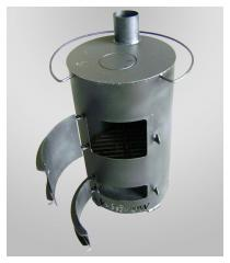 Печь буржуйка модель БА-М1