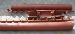 Шнеки чистого зерна ЗВС-20А (от производителя), шнек левый правый, кожуха, привод