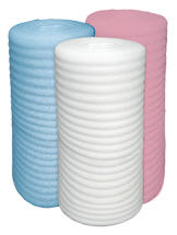 The polyethylene which is made foam.