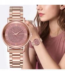 Женские часы с железным браслетом