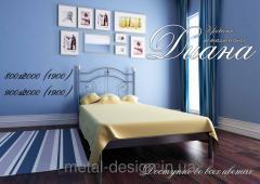 Кровать металлическая мини Диана