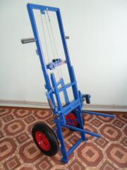 El carretón pasechnaya (APILIFT) ТП-02 (sin ruedas)