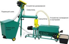 Малая линия гранулирования биомассы  MGL 100/ 200