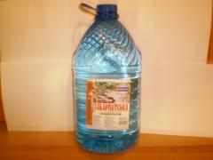 Water drinking mineral table Zakarpatska of 10 l,