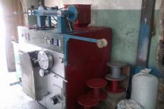 Mini-machine production of a twine polypropylene.