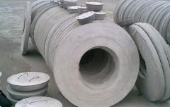 Бетонный люк для канализационного колодца