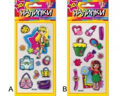 Stickers for children's creativity, a sticker