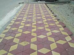 Тротуарная плитка РОМБ г. Херсон