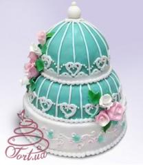 Wedding cake of individual design