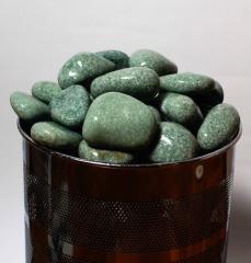 Камінь для лазні жадеит шліфований 5 кг.