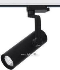 Track LED 12W lamp, tire lamp, black WL12W/4000K