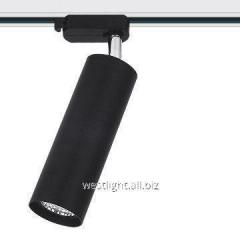 Track LED 12W lamp, tire lamp, searchlight black