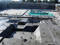 Обмазочная гидроизоляция фундаментов, бассейнов,