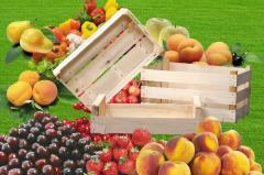 Ящики из шпона для рыбы и мороженых продуктов 0(67)9500386