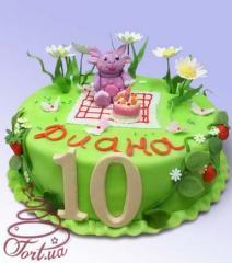 Children's cake Luntik