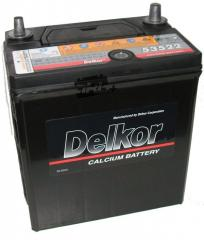 Акумулятор Delkor 6СТ-35 Азия JIS