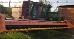 Headers rough-stemmed crops Berdyansk