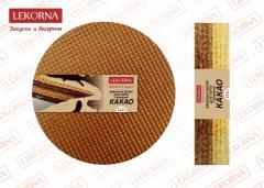 Wafer cake layers for cake with addition of COCOA,