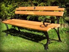 "Garden bench ""Royal"" with"