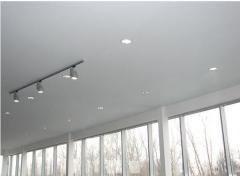 Потолок натяжной белый матовый
