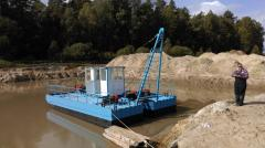 I will sell urgently new dredge with...
