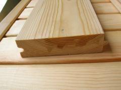 Tábuas de madeira para chão