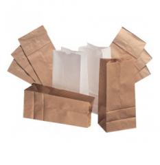 Пакет бумажный с плоским дном для чая, кофе, муки