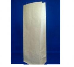 Пакет бумажный с плоским дном, для чая, кофе, муки