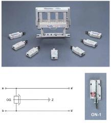 Abonnent enheter til automatiske telefonstasjoner