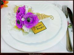 Бонбоньерки, подарки для гостей на свадьбу