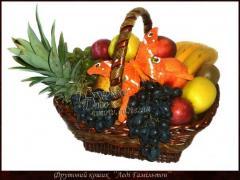 Корзина фруктов.