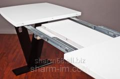Mechanism of a sliding table