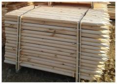 Колья,  нагеля деревянные
