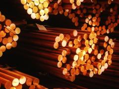 Rolling copper: brass plate, copper bar, copper