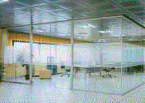 Стеклянные перегородки, Офисные стеклянные
