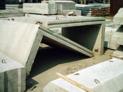 Otkrylki G-shaped reinforced concrete